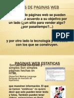Tipos de Paginas Web FFH