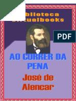 Alencar, José de - Ao correr da pena - PT