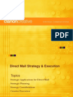 Direct Mail Strategy & Execution