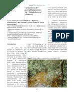 Second known locality of the Critically Endangered Adenomus dasi (Sri Lanka)