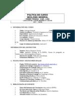 Politica Geologia General 1 2008-2009