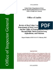 Review of Best-Value Contracting for the Department of State Local Guard Program and the Utility of Expanding the Policy Beyond High- Threat Posts in Iraq, Afghanistan, and Pakistan