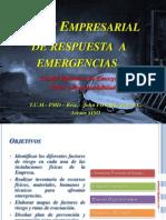 Plan Empresarial de Respuesta a Emergencias
