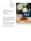 Coconut and Lime Rice Pudding