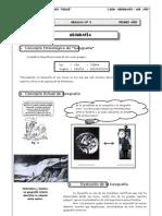 I BIM - 1er. Año - Geografía - Guía 3 - Geografía