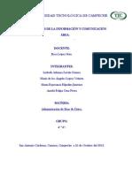 Reporte de la creación y configuración de una red inalámbrica