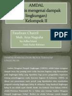 Presentasi Kuliah AMDAL