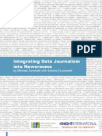 Integrating data journalism in the newsroom