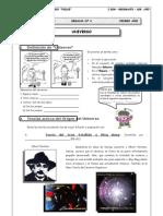 I BIM - 1er. Año - Geografía - Guía 4 - Universo