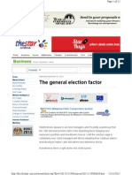 The General Election Factor