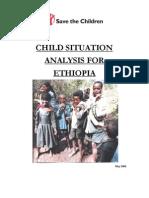 child situation analysis for ethiopia