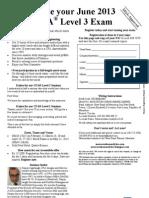June 2013 CFA L3 MRU Reg Form Feb-May