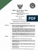Pergub DKI No.207 Tahun 2012 Ttg UMSP 2013