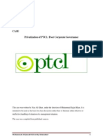 Privatization of PTCL
