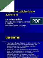 Poliendocrinopatii autoimune