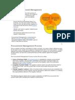 7 Perform Procurement Management