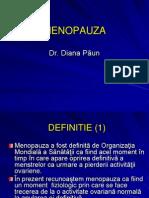 Menopauza