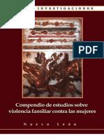 Compendio de estudios sobre violencia familiar contra mujeres