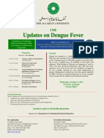 Flyer-Updates on Dengue Fever