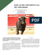 Articulo Toro Bravo y Manso