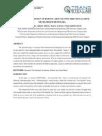 SIMULATION BASED DESIGN OF ROBOTIC ARM AND OMNI DIRECTIONAL DRIVE MECHANISM OF DEXTO:EKA