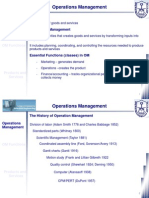 Class 02 - Operation Managment
