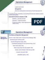 Class 02 - Operation Managment