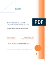 Household Plastics - A Global Market Watch, 2011 - 2016 - Broucher