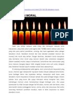 Dekadensi Moral