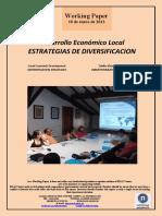 Desarrollo Económico Local. ESTRATEGIAS DE DIVERSIFICACION (Es) Local Economic Development. DIVERSIFICATION STRATEGIES (Es) Tokiko Ekonomi Garapena. DIBERTSIFIKAZIORAKO ESTRATEGIAK (Es)