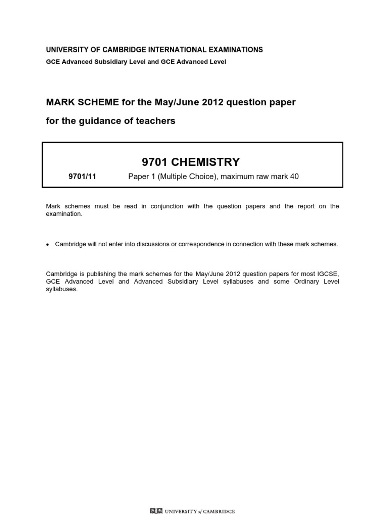 10 POINTS FOR FIRST ANSWER What does cond mean in the igcse chemistry past paper marking scheme?