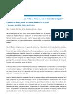 Discurso Apertura Foro Politicas Publicas Jose Angel Gurria