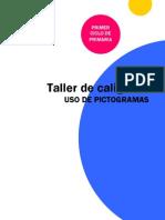 TALLER DE CALIGRAFÍA CON PICTOGRAMAS