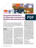 Integrative Metabolism: