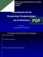 FIUBA.ecs. Fundamentales de La Hidraulica