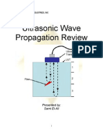 Ultrasonic Wave Propagation Review