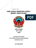 Hak Asasi Manusia Versi Islam dan Barat