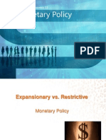 Expansionary & Restrictive Monetary Policy