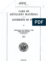 Artillery Accidents Fire