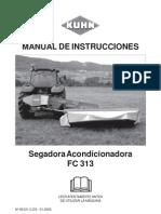 Manual Segadora Fc313l