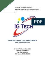Proposal Web Desain Dan Sistem Informasi Manajemen Sekolah