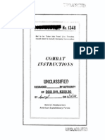 Combat Instructions 1348