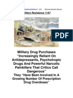 Military Resistance 11A7 Drugged