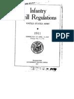 Drill Regs 1911