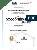 PROYECTO CONEIMERA UNI LIMA 2013