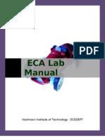 Eca lab manual. Pdf   amplifier   bipolar junction transistor.