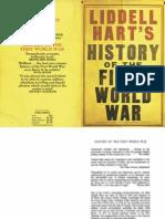 Liddell Hart - History of the First World War