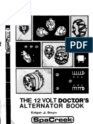 THE 12 VOLT DOCTOR'S ALTERNATOR BOOK | Rectifier | Diode The Volt Wiring Diagram on