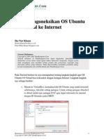 Cara Mengoneksikan OS Ubuntu 9.0 Virtual Ke Internet1
