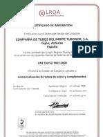 LR Certificado